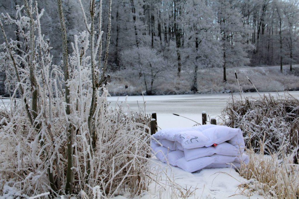 vinterdyne, varm dyne, helårsdyne